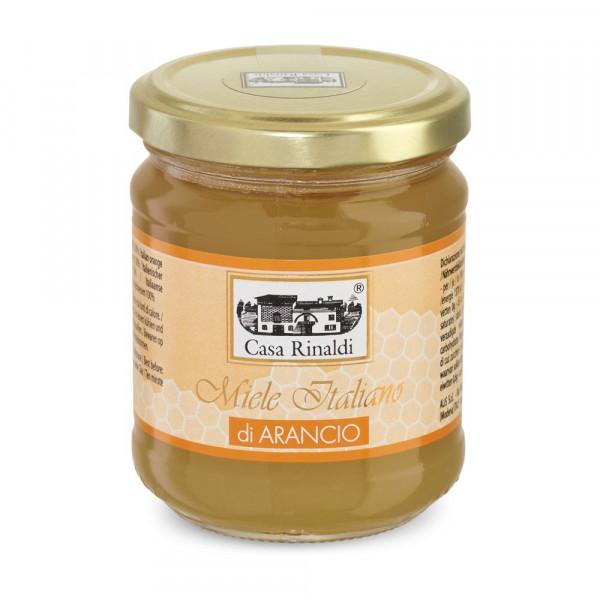 Italienischer Orangenhonig 100%   Casa Rinaldi   250g