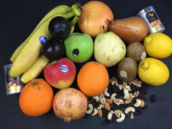Home Office Energie Obst & Snack Box | 14 Produkte = 4kg | frisch vom Markt