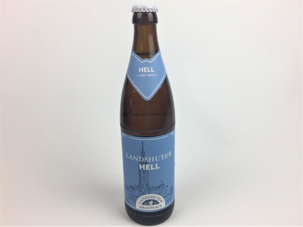 Landshuter Hell | Landshuter Brauhaus | 0.5 Liter | Alk. 4.9% vol.
