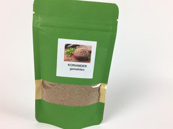 Koriander gemahlen | Aroma Nachfüllpackung | 65g