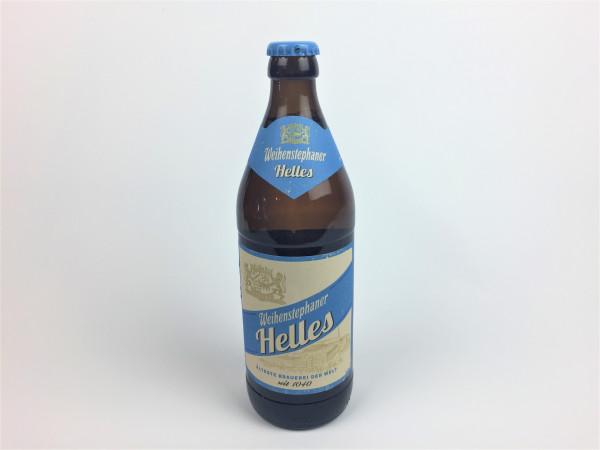 Weihenstephaner Helles | Älteste Brauerei der Welt | 0.5 Liter | Alk. 4.8% vol.