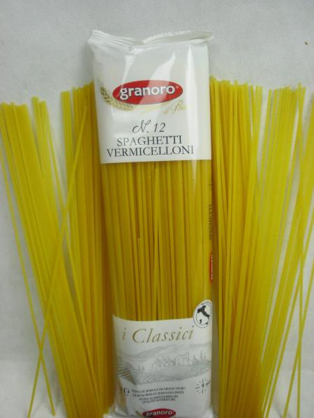 Spaghetti N. 12 i Classici Vermicelloni | granoro Puglia | 500g