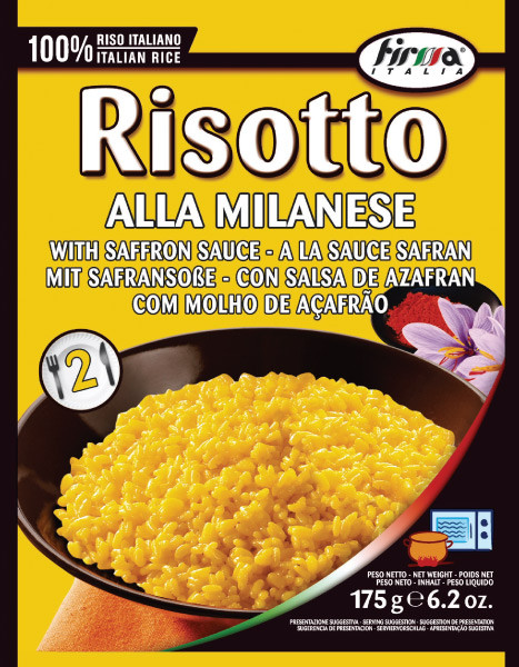 Risotto alla Milanese mit Safransoße | Firma Italia | 175g