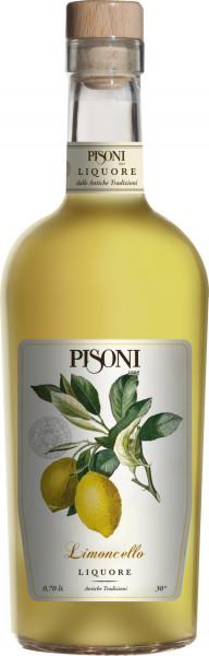 Pisoni Trentino | Limoncello Likör | 30% | 0.7l