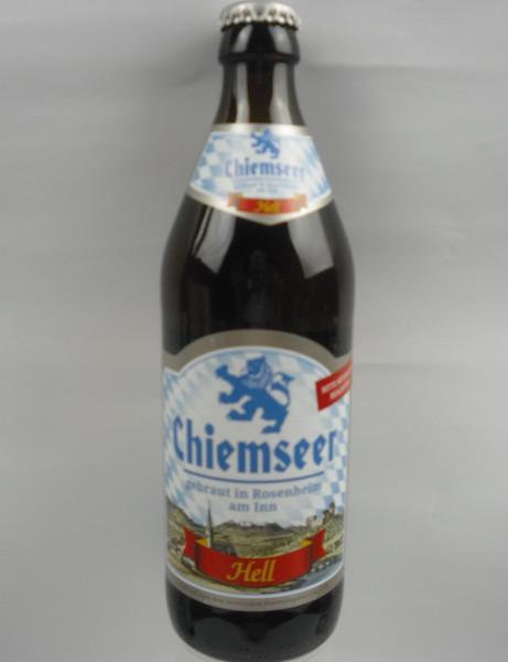 CHIEMSEER HELL | Rosenheimer Spezialitätenbrauerei | 0.5 L