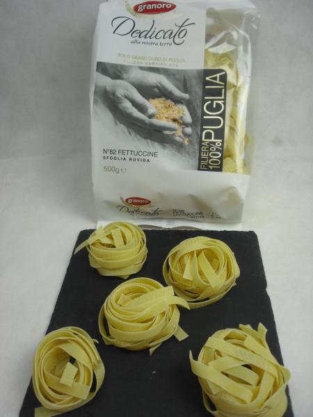 Fettuccine N.82   Dedicato   granoro Puglia   500g