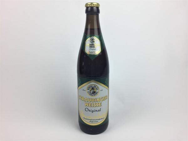 Straubinger Weisse Original   Röhrlbräu   0.5 Liter   Alk. 5.3% vol.