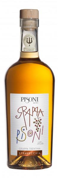 Pisoni Grappa Trentino   Stravecchia   40%   0.7L