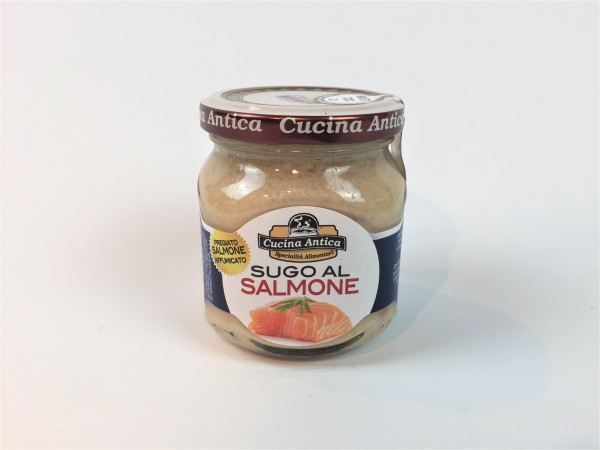 Lachssauce | Sugo al Salmone | Cucina Antica | Glutenfrei | 200ml.