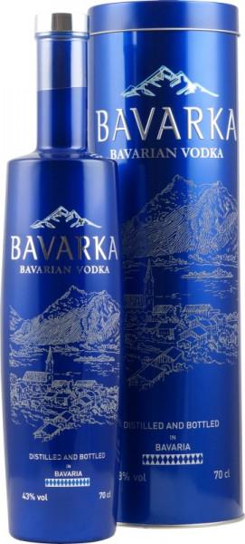 Bavarka Vodka Flasche ohne Geschenkdose | Lantenhammer | 43% vol. alc. | 0.7 L