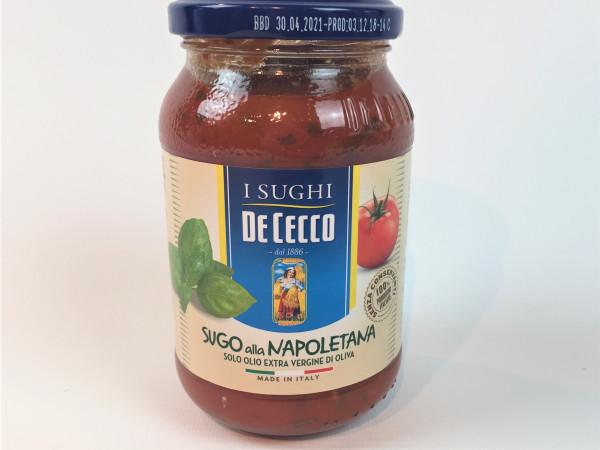 Tomatensauce Napoletana mit Basilikum | De Cecco | 400ml.