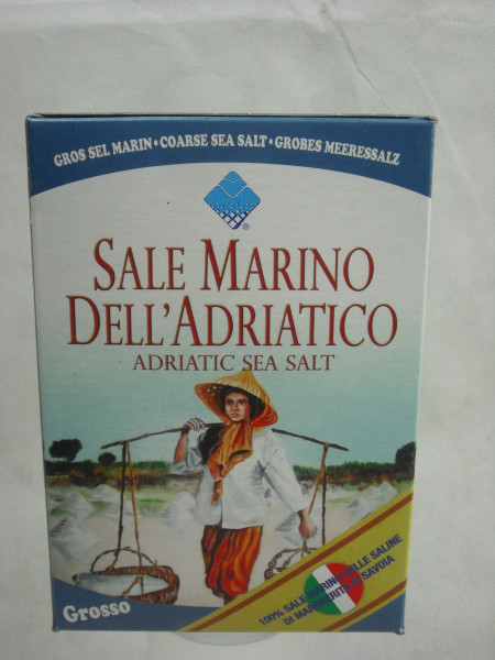 Meersalz - Speisesalz grob | Sale Marino Grosso | 1kg
