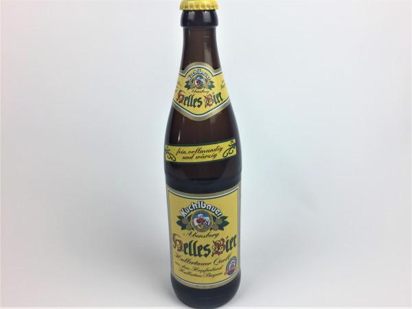 Kuchlbauer Helles Bier | Brauerei Kuchlbauer Abensberg | 0.5 Liter | Alk. 5.2% vol.