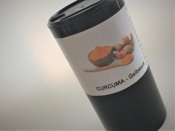 Curcuma / Kurkuma gemahlen | im Aroma Gewürzstreuer | 100g