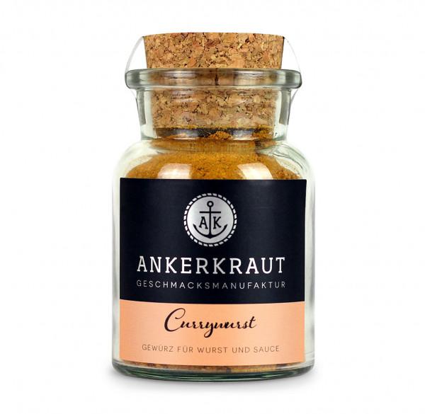 Currywurst Gewürzmischung für Sacue und Wurst   im Glas   Ankerkraut   90g