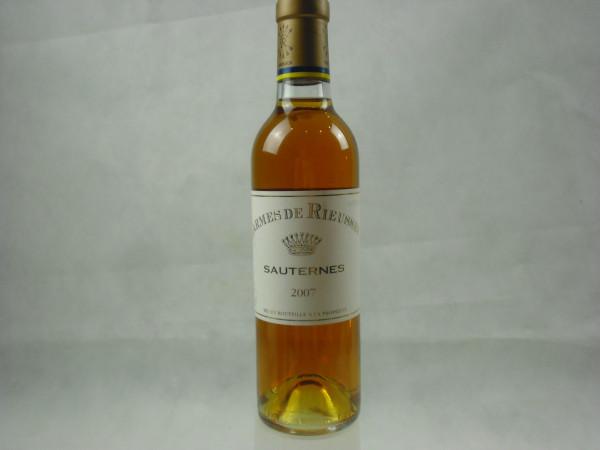 Sauternes 2007 | Carmes de Rieussec | 0.375l