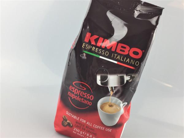KIMBO Espresso napoletano | ganze Bohnen | 250g
