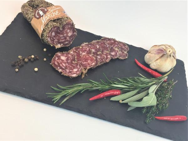 Salami im Pfeffermantel vom französischen Bergschwein 180g