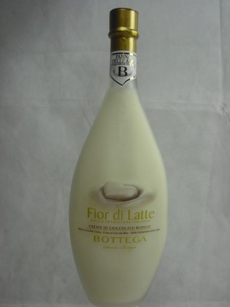 Bottega Crema Di Cioccolato Bianco   Weißer Schokoladencreme Likör   0.5l