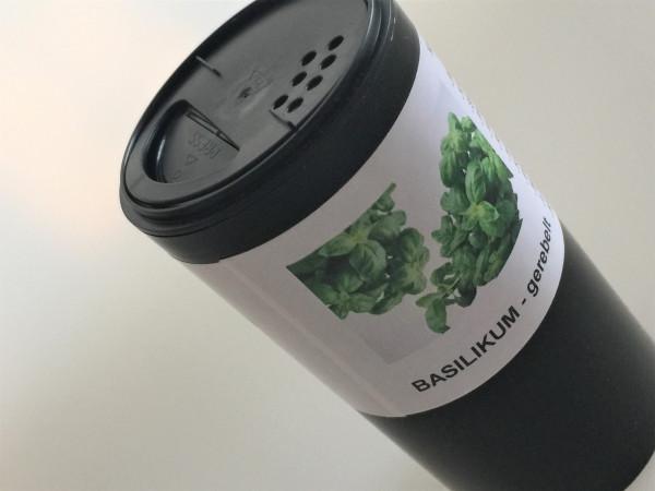 Basilikum gerebelt | Aroma Gewürzstreuer | 40g