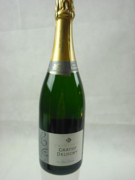 Champagner Gratiot Delugny Brut Reserve   0.75l