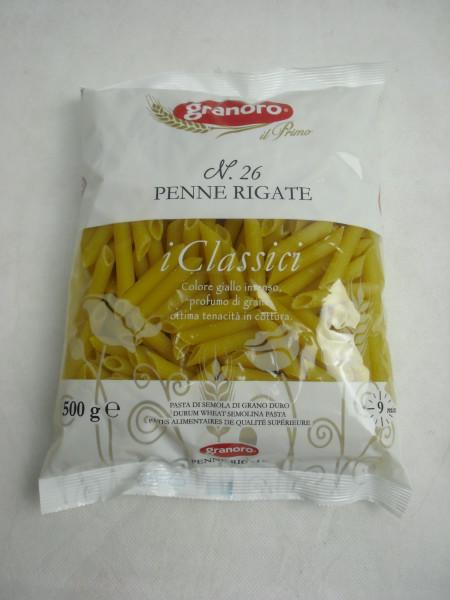 Penne Rigate 26 | i Classici | granoro Puglia | 500g
