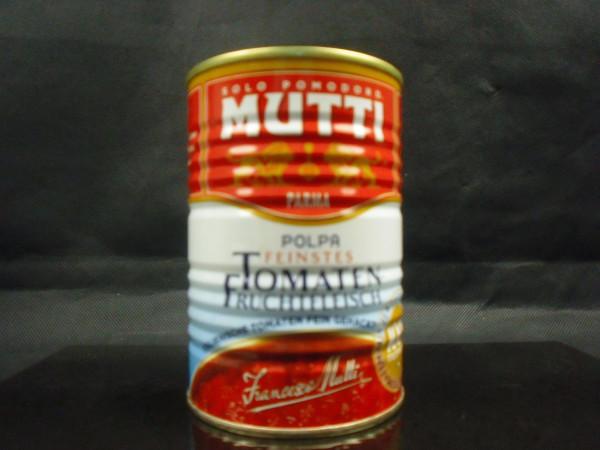 Fein gehackte Tomaten | 100% italienisch | Francesco Mutti | 400g