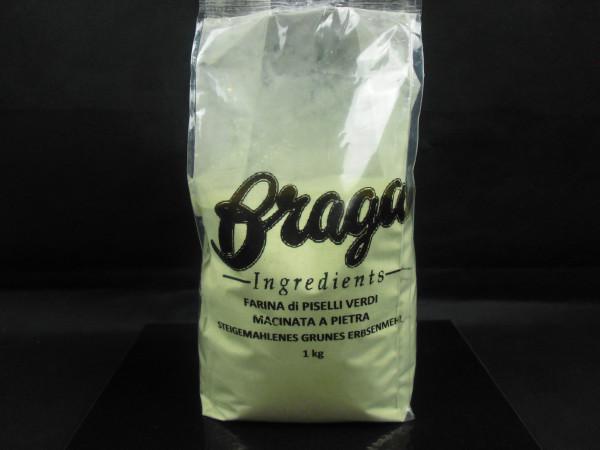Grünes Erbsenmehl | Steingemahlen | Braga | 1kg