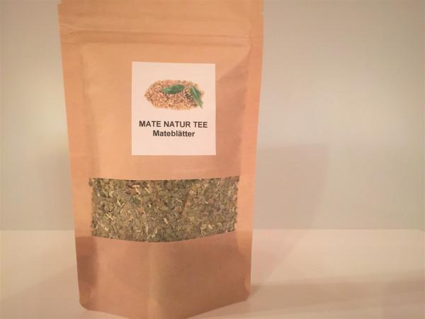 Mate Tee grün Natur lose Blätter getrocknet | Aroma Vorratspackung | 50g