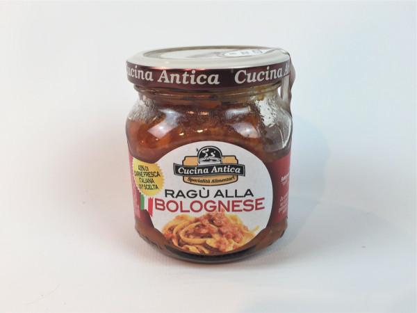 Fleischsauce nach Bologneser Art | Cucina Antica | Glutenfrei | 200ml.