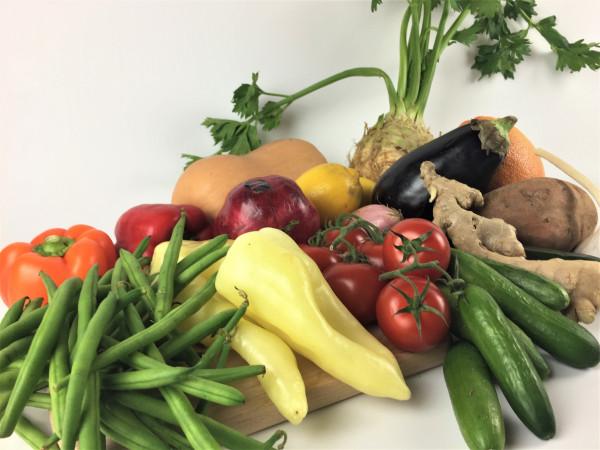 Oktober Basic Gemüsebox | der Saison | 17 Produkte = 5kg | frisch vom Markt