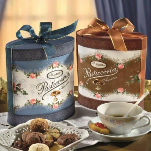 Amaretti Dunkler Biskuit mit Kakao, Kaffee und Schokoladencreme   Flamigni   20g