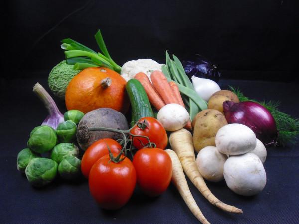 Januar Basic Gemüsebox   18 Produkte = 5kg   frisch vom Markt -