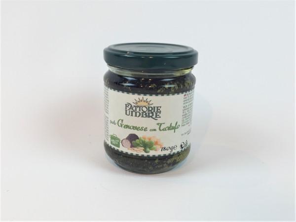 Pesto Basilikum mit Trüffel | Fattorie Umbre | 180g