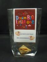 1 Betthupferl Glückskeks | Dream Big Little One | in Folie verpackt