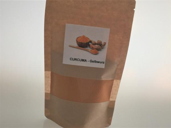 Kurkuma / Curcuma gemahlen   Aroma Vorratspackung   100g