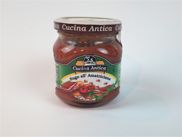 Amatriciana Sauce | Glutenfrei | Cucina Antica | 200ml.