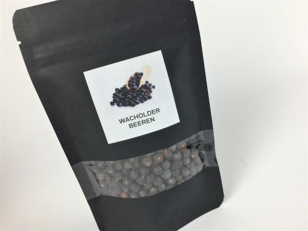 Wacholderbeeren ganz doppelt gesiebt   Aroma Vorratspackung   50g