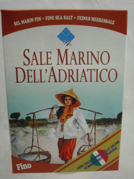 Feines Meersalz - Speisesalz | Sale Marino Fino | 1kg