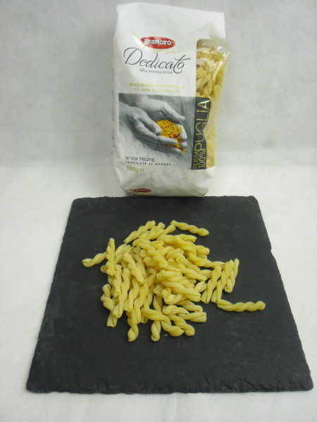 Trofie Pasta N. 104 | Dedicato | granoro Puglia | 500g